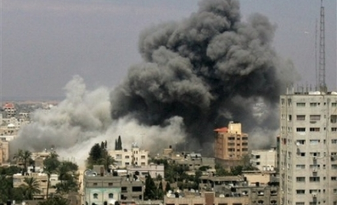 Israel's airstrike into Gaza, 2 killed, 32 wounded