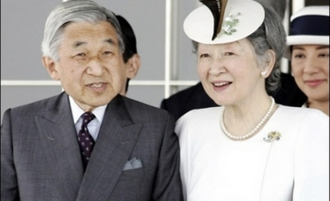 Japanese emperor heads to Europe