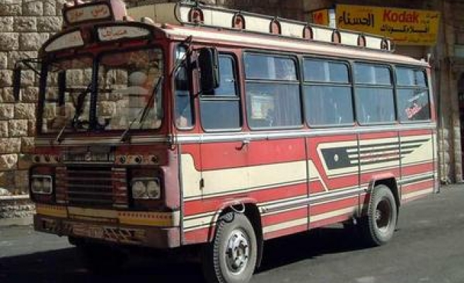 14 people dead in bus accident in Syria
