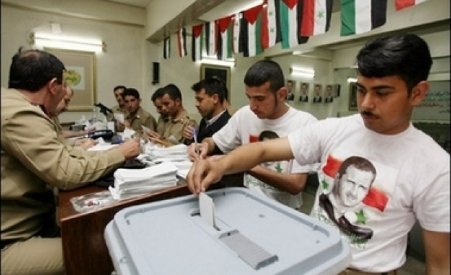 US official describes Syrian referendum as 'peer theater'