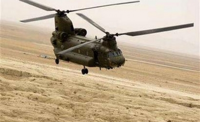 Helicopter down in Afghanistan