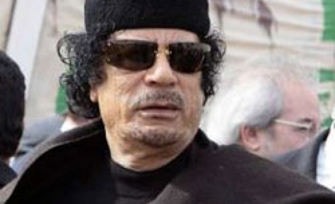 Gaddafi pushes for union after election to head AU