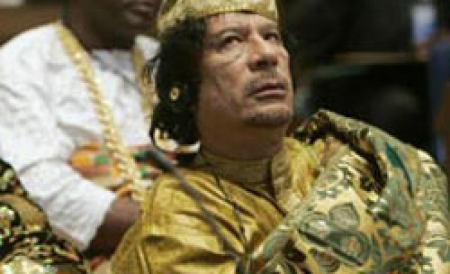 Gaddafi elected to chair Africa Union summit in Ethiopia