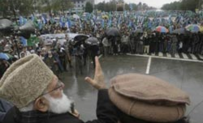 Thousands call for plebiscite in Kashmir solidarity day