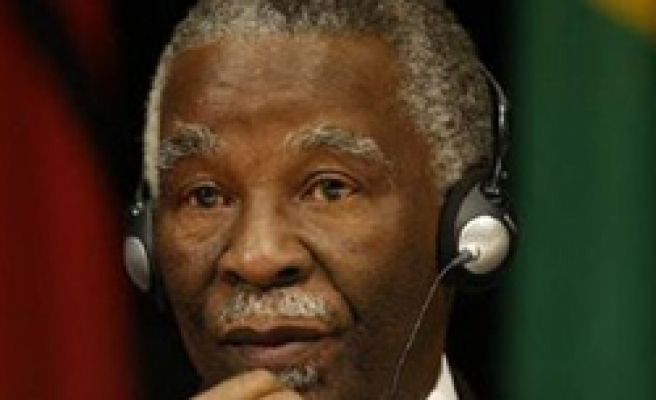 Mbeki's ex-deputy to join new S.Africa party - report