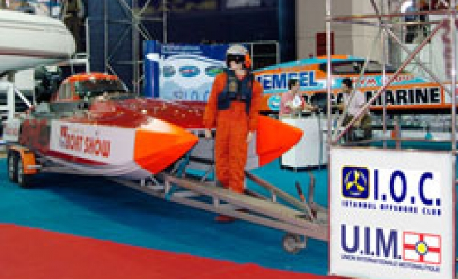 Eurasia Boat Show opened in Turkey's Istanbul