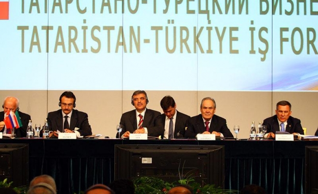 Turkey tells Tatarstan 'Brothers rediscover each other'