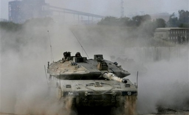 Israel attack Palestinian town