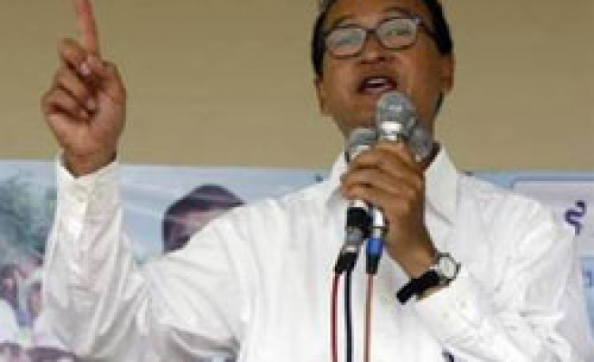 Cambodia's opposition leader gets 2-year sentence