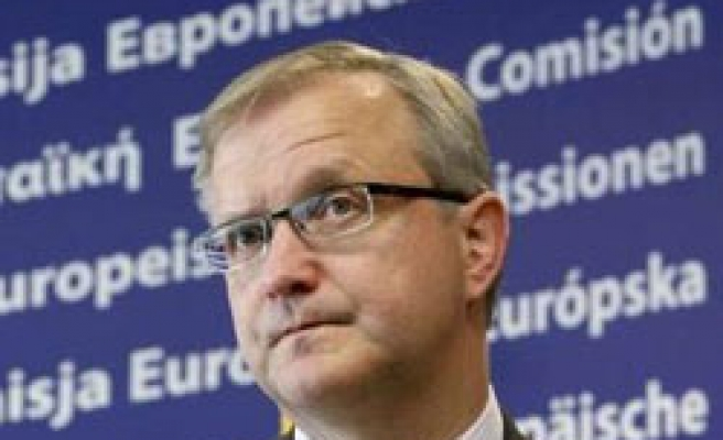 EU's Rehn welcomes Turkey's new Kurdish opening