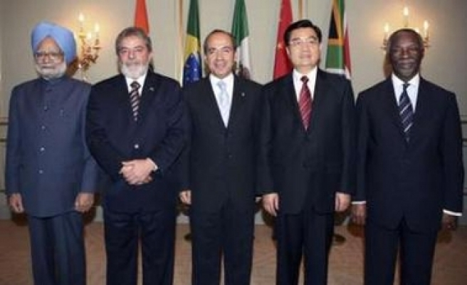Emerging economies want greater say in world affairs