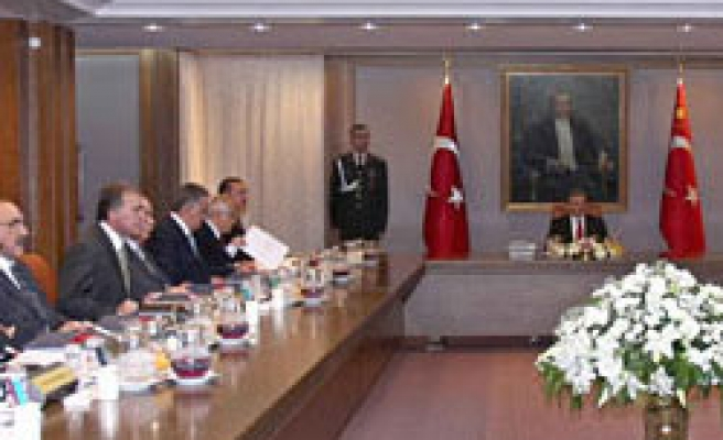 Turkish security council convene as police search army unit