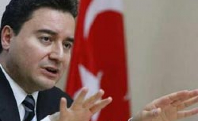Babacan says Turkey ready for energy cooperation with Greece