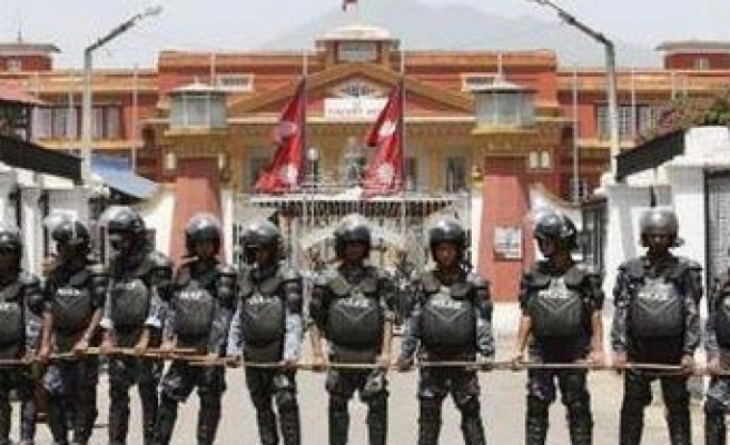 Nepalese MPs brawl as country faces general strike