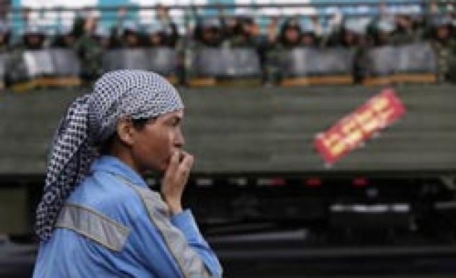Four Uighurs say to appeal China sentence for alleged syringe attacks