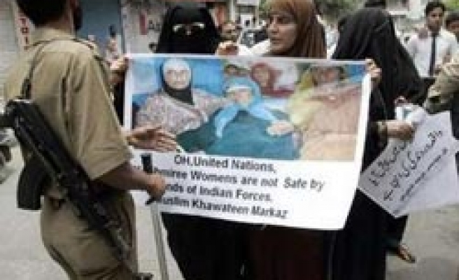 Kashmiris call for international probe after 'India rape cover-up'