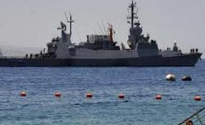 Russia sends warship to Israel for the first time