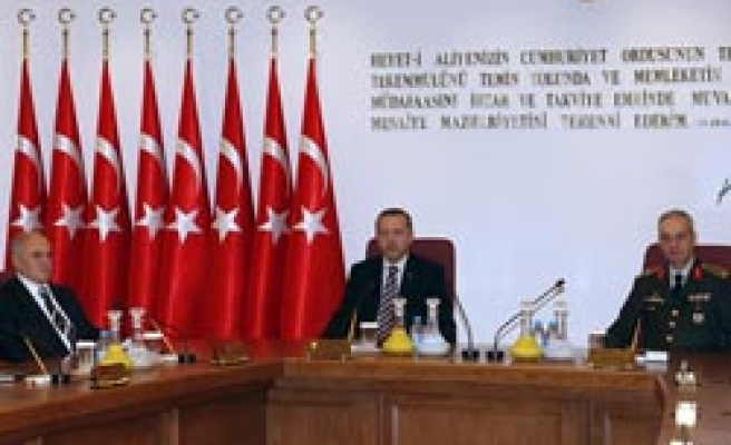 Turkey's Supreme Military Council due to convene