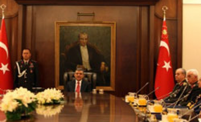 Turkish security council discuss Iraq, Cyprus but no word crisis