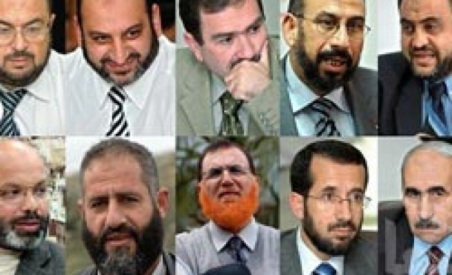 Nine Hamas lawmakers 'free from Israel prison'