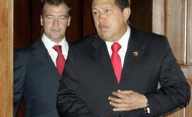 Russia's Medvedev says to sell tanks to Venezuela: Report