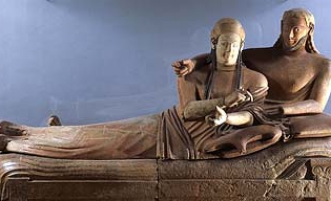 Italy's ancient Etruscans from Turkey