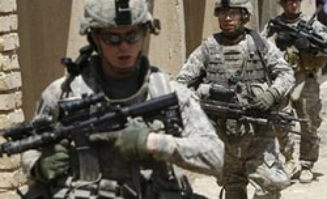 Dozens of U.S. troops on ground in Iraq's Anbar province