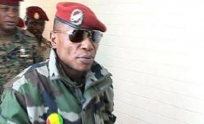 Guinea junta chief not in state to return: France