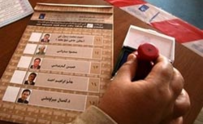 Iraqi election officers in Turkey for training