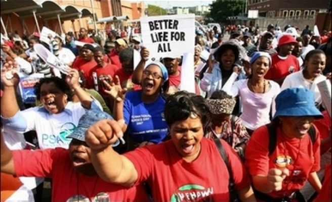 South African strike continues until Friday