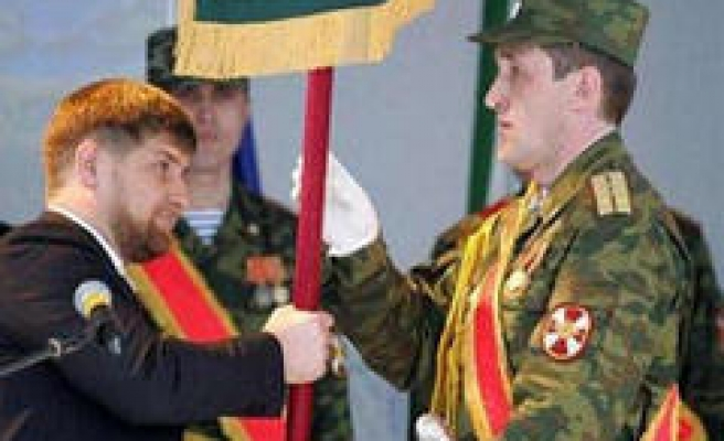 Soldiers and police clashed in Chechnya