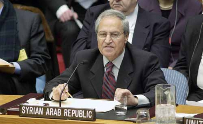 Syria says peace with Israel 'not optimistic'