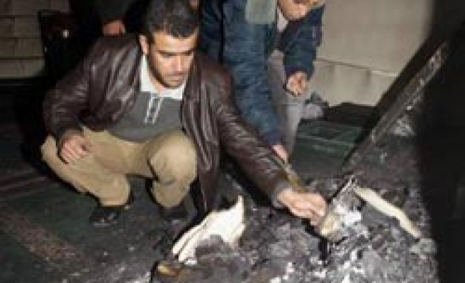 Suspected Jewish settlers burn West Bank mosque / PHOTO