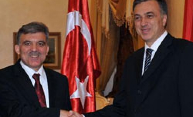 Turkey's Gul in Montenegro shows solidarity on Balkans stability