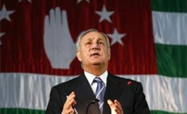 Abkhazia leader wins second term - results