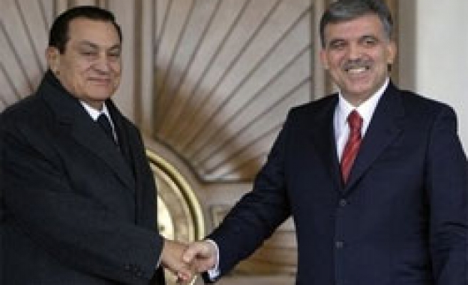 Turkish, Egyptian leaders discuss joint priorities