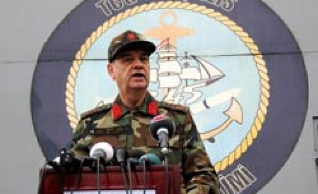 Turkey's top general talks tough after recent clashes