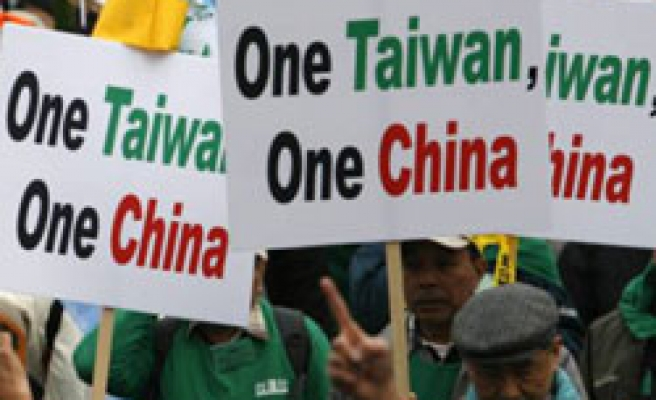Thousands in Taiwan protest 'warming China ties'