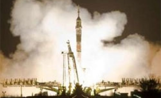 Russian Soyuz rocket blasts off to space outpost