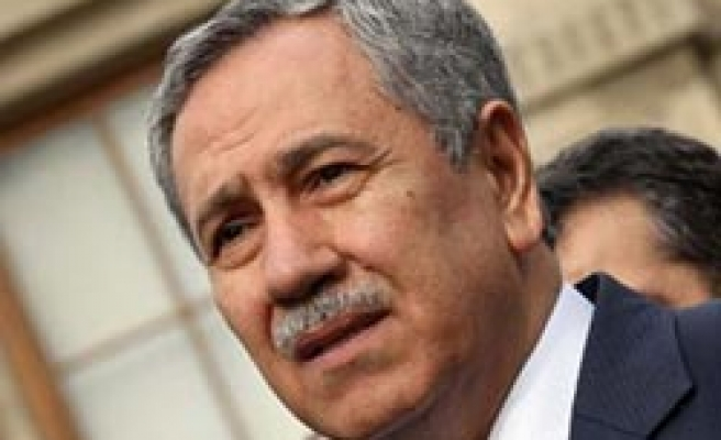 Turkey's Arinc speaks about assassination plot for first time