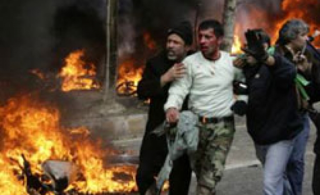 Iran police deny 'protester deaths' in clashes / PHOTO