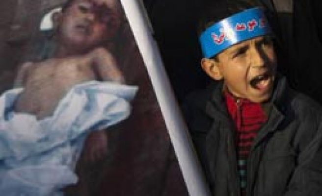 Afghans protest Obama over student killings / PHOTO