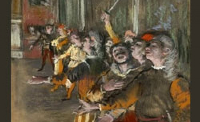 Edgar Degas painting stolen from French museum