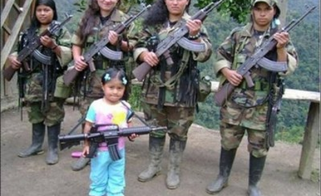 Forced recruitment of minors continues in Colombia