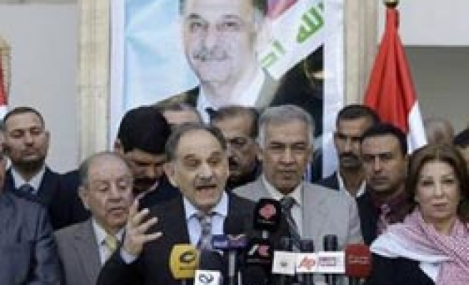 Iraqi Sunnis says to boycott March election if ban continue