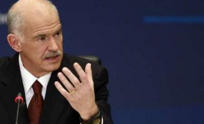 Greece's Papandreou says won't go to IMF or hurt the poor