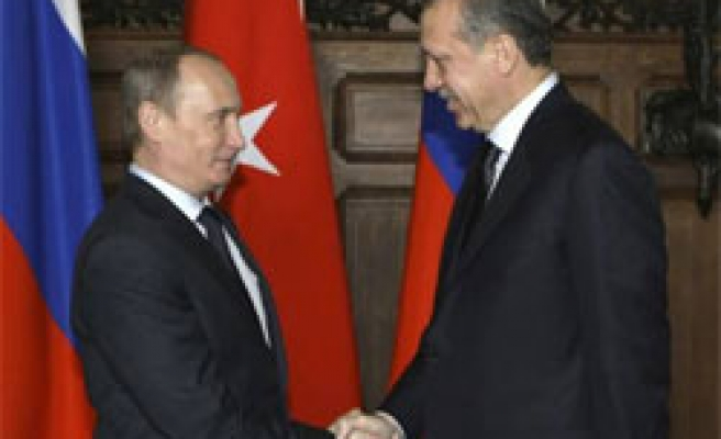 Putin says Turkey, Russia agree to revive joint pipeline projects