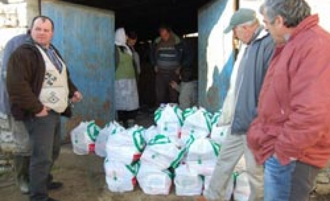 Turkish relief group says aid sent to flood-hit Albania / PHOTO