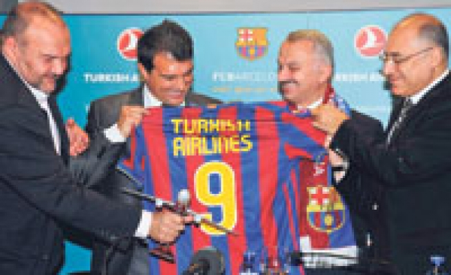 Turkish Airlines official sponsor of Spanish FC Barcelona