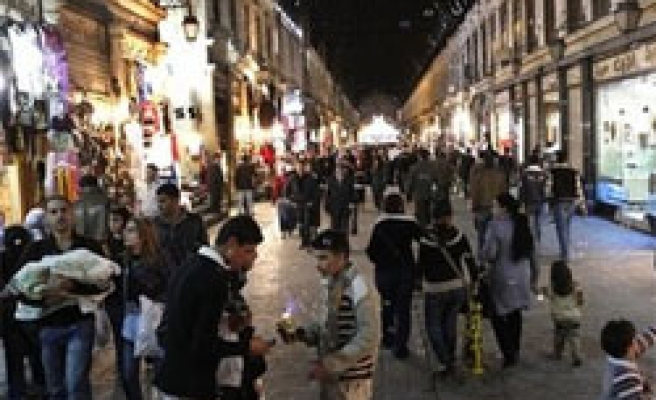 Syria tourist numbers up 12 pct, government says